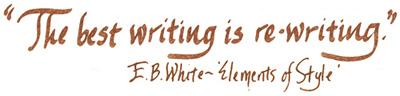 EB White quote