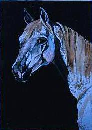 """Arabian watercolor on paper 9"""" x 12"""""""